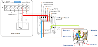 heating control wiring diagram heating wiring diagrams