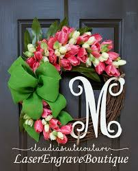 tulip wreath tulips wreath claudiascutecouture