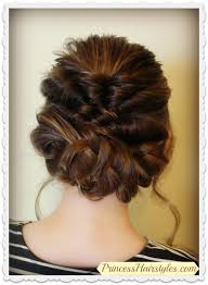 prom updo instructions prom wedding hairstyle romantic updo with twists braids