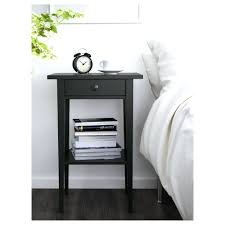 Ikea Hemnes Side Table Black Brown Bedside Table Hemnes Black Brown Bedside Table Ikea