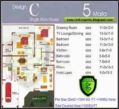 3 marla house plan of double story joy studio design 3 marla