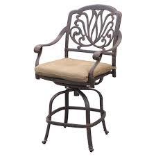 Wrought Iron Swivel Patio Chairs Best 25 Patio Bar Stools Ideas On Pinterest Outdoor Bar Stools