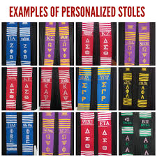 custom graduation sashes personalized kente stoles prime heritage gifts