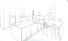 dessin chambre en perspective salon dessin perspective urbantrottcom salon dessin perspective
