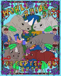 world rhino day world rhino day 2017