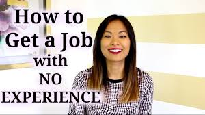 No Experience Social Worker Jobs How To Get A Job With No Experience Youtube