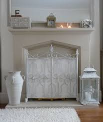 Shabby Chic Fireplace by I Love My Home Shabby Chic Fire Screen