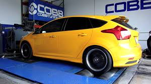 2013 ford focus st upgrades cobb tuning dyno 240 whp 353 wtq 2013 ford focus st