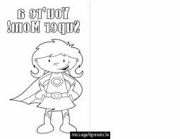 mom coloring pages color this card happy mothers day cut out super mom printable