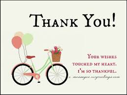 wedding wishes reply birthday thank you messages thank you for birthday wishes