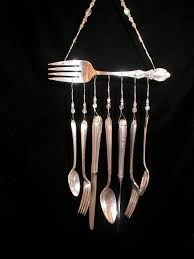 Unique Silverware by 50 Pictures Of Amazing Ideas To Reuse Forks Reuse Wind Chimes