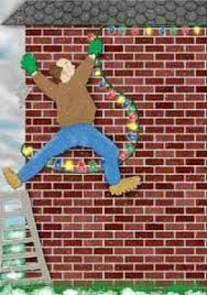 brick clips for christmas lights door 6 brings the holiday classic a christmas story to life the