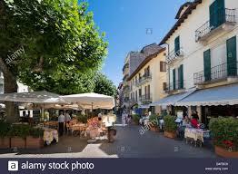 italy lake maggiore town of stresa luxury hotel of borromeo