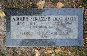headstone maker cigar makers international forest home cemetery overview