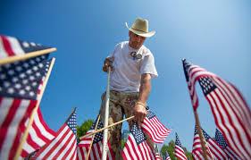 Flag Of Massachusetts Boston Remembers State U0027s Fallen Veterans On The Common Wbur News