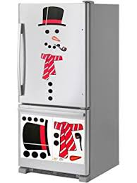 Animated Christmas Door Decorations by Amazon Com Christmas Decoration Snowman Magnet Set Animated
