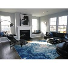 Area Rugs Modern Design Angeline Blue Area Rug Blue Area Rugs Living Spaces And Master