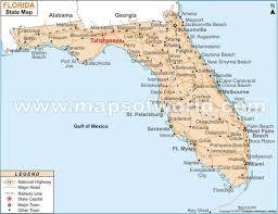 florida towns map florida map