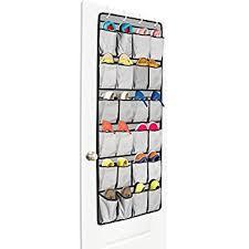 Shoe Rack For Closet Door Closet Door Shoe Organizer The Door Shoe Rack And
