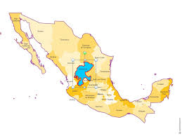 map of mexico with states mexico states map for excel word and powerpoint