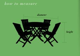 Patio Furniture Dimensions Round Square Dining Covers W Umbrella Hole Koverroos Patio