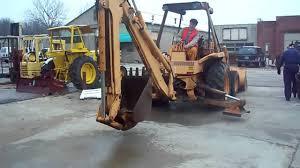 jkm case 580e loader backhoe youtube