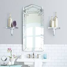 deco bathroom ideas amazing deco bathroom mirrors 17148 for mirror modern