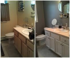 painting bathroom vanity ideas top 61 suggestion diy bathroom oak vanity painted graphite chalk