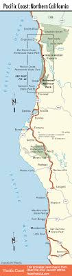 coast map pacific coast highway road trip usa
