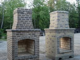 pics photos masonry outdoor fireplace plans for patio how to