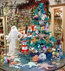 sea themed ornaments and home decor