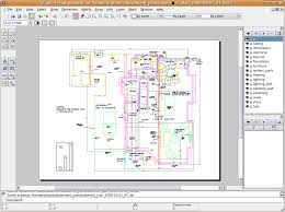 librecad creating a detailed design drawing for a basement