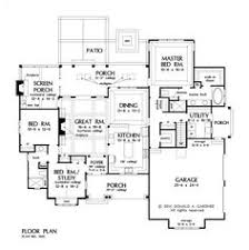 2500 Sq Foot House Plans First Floor Plan Of Ranch House Plan 54075 Finished Basement 2