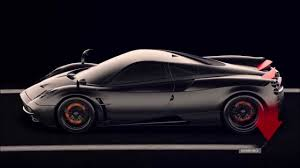 pagani back pagani huayra active aerodynamics youtube