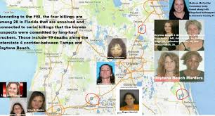 Orlando Crime Map by Killer Truckers Fbi Crime Analyst Describes Highway Serial