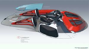 renault trezor renault trezor sketches by laurent negroni interior pinterest