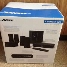 new home theater technology bose cinemate 520