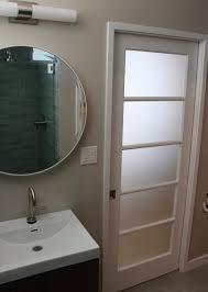 Bathroom  Design Ideas Appealing Light Grey Finish Paint Small - Mid century bathroom vanity light
