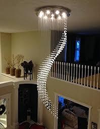 Chandelier Decor Siljoy W31 5 X H102 Staircase Pendant Light High Ceiling