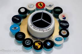 jeep cake marcedes logo cake with car logos cupcakes punizz kitchen
