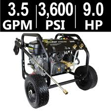 simpson powershot 3 800 psi 3 5 gpm gas pressure washer powered by