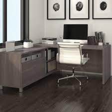 L Shaped Executive Desk Mercury Row L Shape Executive Desk Reviews Wayfair