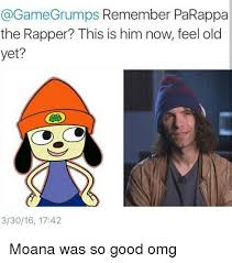 Game Grumps Memes - game grumps remember parappa the rapper this is him now feel old