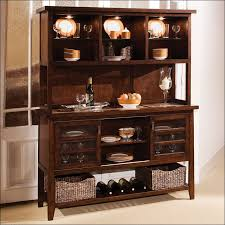 Buffet Glass Doors by Kitchen Dining Room Storage Ideas Tall Wood Storage Cabinets