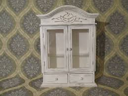 shabby chic white curio cabinet remarkable white curio cabinet