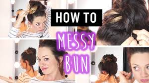 hairstyles when quick easy travel hairstyles messy bun youtube