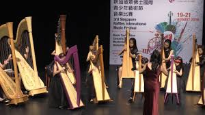 rave harpers harp ensemble 2016 singapore raffles music festival