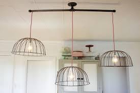 diy kitchen lighting brilliant diy kitchen lighting diy wire basket lights the inside