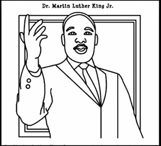 Free Printable Martin Luther King Jr Day Coloring Pages Famous Dr Martin Luther King Jr Coloring Pages