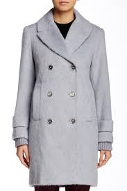 french connection double breast boyfriend coat nordstrom rack